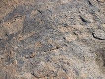 Πέτρινη κινηματογράφηση σε πρώτο πλάνο βράχου Στοκ Εικόνα