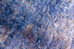 Πέτρινη μπλε σύσταση Στοκ Εικόνες