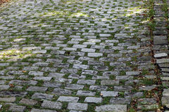 Πέτρινη οδός στοκ φωτογραφίες με δικαίωμα ελεύθερης χρήσης