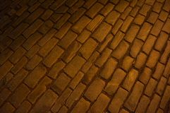 Πέτρινη οδός στοκ φωτογραφία με δικαίωμα ελεύθερης χρήσης