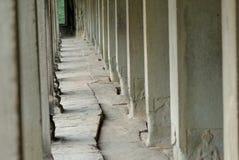 Πέτρινη πορεία Angkor Wat Στοκ Εικόνες