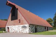 Πέτρινη σιταποθήκη σε Wanas Castle Στοκ εικόνα με δικαίωμα ελεύθερης χρήσης
