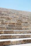 Πέτρινη σκάλα στην Ελλάδα Στοκ Εικόνες