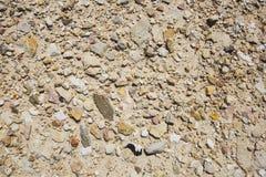 Πέτρινη σύσταση ή σύσταση βράχου στη φυσική θέση Στοκ Εικόνα