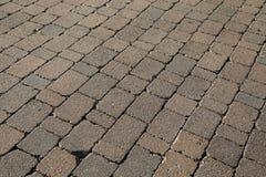 Πέτρινη σύσταση πεζοδρομίων Στοκ Φωτογραφίες