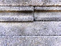 Πέτρινη σύσταση τούβλων κατασκευής Στοκ Εικόνα