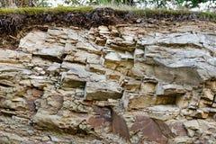 Πέτρινη ψαμμίτης λατομείων ή γήινη σπηλιά Στοκ Φωτογραφία