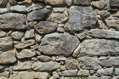 Πέτρινοι διαφορετικοί τύποι τοίχων και μεγέθη του υποβάθρου πετρών Στοκ Εικόνες