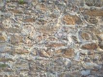 Πέτρινοι διαφορετικοί τύποι τοίχων και μεγέθη του υποβάθρου πετρών Στοκ Φωτογραφία