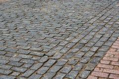 Πέτρινοι φραγμοί, άποψη γωνίας στοκ εικόνα με δικαίωμα ελεύθερης χρήσης