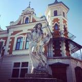 Πέτρινος άγγελος Στοκ φωτογραφία με δικαίωμα ελεύθερης χρήσης