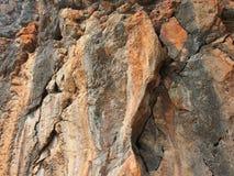Πέτρινος απότομος βράχος Στοκ φωτογραφία με δικαίωμα ελεύθερης χρήσης