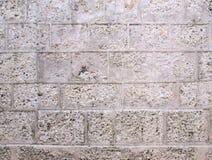 Πέτρινος αρχαίος τοίχος φραγμών Στοκ φωτογραφία με δικαίωμα ελεύθερης χρήσης