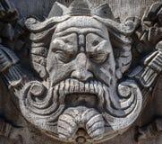 Πέτρινος βασιλιάς Στοκ Φωτογραφία