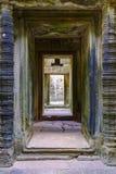 Πέτρινος διάδρομος στο ναό Angkor Wat σύνθετο Στοκ φωτογραφίες με δικαίωμα ελεύθερης χρήσης