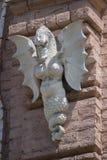 Πέτρινος δράκος στον τοίχο του καθεδρικού ναού Κίεβο στοκ φωτογραφίες