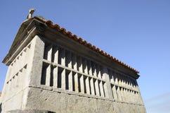 Πέτρινος σιτοβολώνας της Γαλικία Στοκ εικόνες με δικαίωμα ελεύθερης χρήσης