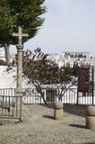 Πέτρινος σταυρός στο plaza Στοκ φωτογραφία με δικαίωμα ελεύθερης χρήσης