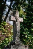 Πέτρινος σταυρός Στοκ Εικόνα