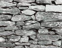 Πέτρινος τοίχος, για το υπόβαθρο ή τη σύσταση Στοκ Εικόνα