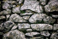 Πέτρινος τοίχος ΙΙΙ Στοκ φωτογραφία με δικαίωμα ελεύθερης χρήσης