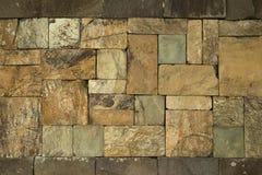 Πέτρινος τοίχος κεραμιδιών Στοκ Εικόνες