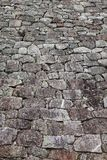 Πέτρινος τοίχος στην Οζάκα Castle, Ιαπωνία Στοκ εικόνες με δικαίωμα ελεύθερης χρήσης