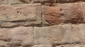 Πέτρινος τοίχος του Castle Στοκ Εικόνες