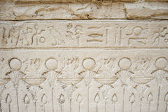 Πέτρινος τοίχος το κατασκευασμένο υπόβαθρο της Αιγύπτου Στοκ Εικόνες