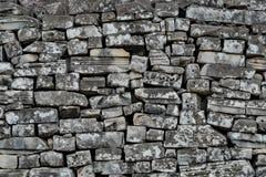 Πέτρινος τοίχος φραγμών Angkor Στοκ Φωτογραφίες