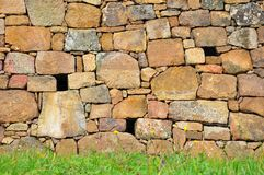 Πέτρινος τοίχος Στοκ Εικόνες