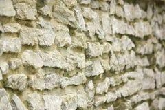 Πέτρινος τοίχος Aestheic που παρέχει στην ασφάλεια την έκκληση συγκρατήσεων στοκ φωτογραφία