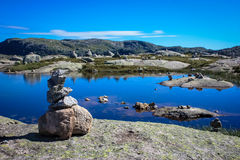 Πέτρινος τύμβος Στοκ φωτογραφία με δικαίωμα ελεύθερης χρήσης