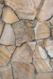 Πέτρινος υλικός, κατασκευασμένος, τοίχος Στοκ εικόνα με δικαίωμα ελεύθερης χρήσης