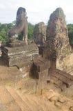 Πέτρινος φύλακας σε προ Rup σε Angkor Στοκ Φωτογραφία