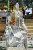 Πέτρινο άγαλμα Goddes, Sop Rurak, Ταϊλάνδη στοκ εικόνες με δικαίωμα ελεύθερης χρήσης