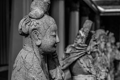 Πέτρινο άγαλμα, Ταϊλάνδη Στοκ Φωτογραφίες