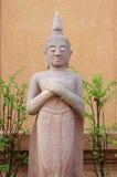 Πέτρινο άγαλμα του Βούδα Στοκ Εικόνα