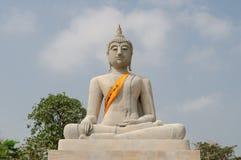 Πέτρινο άγαλμα του Βούδα Στοκ εικόνα με δικαίωμα ελεύθερης χρήσης