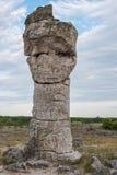Πέτρινο δάσος (Pobiti Kamani) στη Βουλγαρία Στοκ εικόνες με δικαίωμα ελεύθερης χρήσης