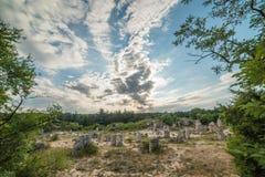 Πέτρινο δάσος (Pobiti Kamani) στη Βουλγαρία Στοκ Εικόνα