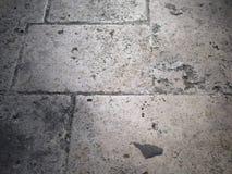 Πέτρινο έδαφος δομών στο γκρι στοκ εικόνα