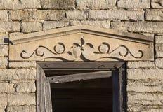 Πέτρινο ανώφλι στο Δρ Σπίτι του Τζόουνς Στοκ φωτογραφία με δικαίωμα ελεύθερης χρήσης