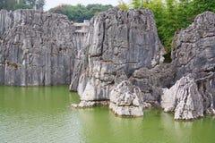 Πέτρινο δασικό εθνικό πάρκο της Lin Shi στην επαρχία Yunnan, Κίνα Στοκ φωτογραφίες με δικαίωμα ελεύθερης χρήσης