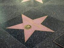 Πέτρινο αστέρι διευθυντή του Oliver στον περίπατο Hollywood της φήμης στοκ εικόνες