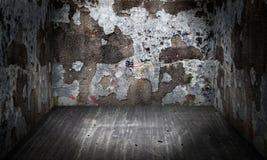 Πέτρινο εσωτερικό αστικό στάδιο τοίχων Στοκ φωτογραφία με δικαίωμα ελεύθερης χρήσης