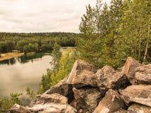 Πέτρινο ελάττωμα Στοκ φωτογραφίες με δικαίωμα ελεύθερης χρήσης