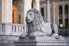 Πέτρινο λιοντάρι Στοκ εικόνα με δικαίωμα ελεύθερης χρήσης