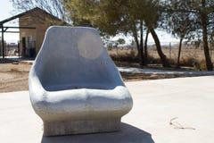 Πέτρινο κάθισμα Στοκ φωτογραφία με δικαίωμα ελεύθερης χρήσης