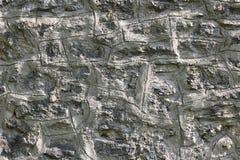 Πέτρινο λευκό υποβάθρου σύστασης τοίχων Στοκ Εικόνα